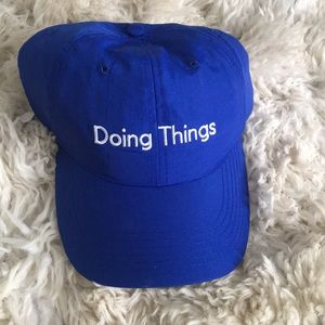 NWT Outdoor Voices Doing Things Baseball Hat